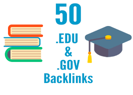 I will create 50 high Quality edu and gov backlinks