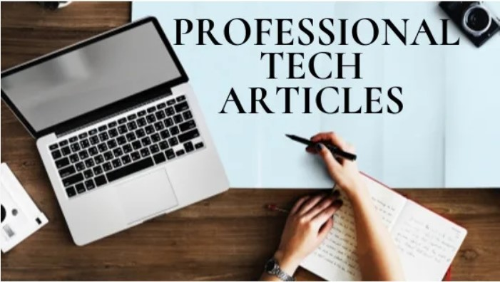 I will research and write tech articles