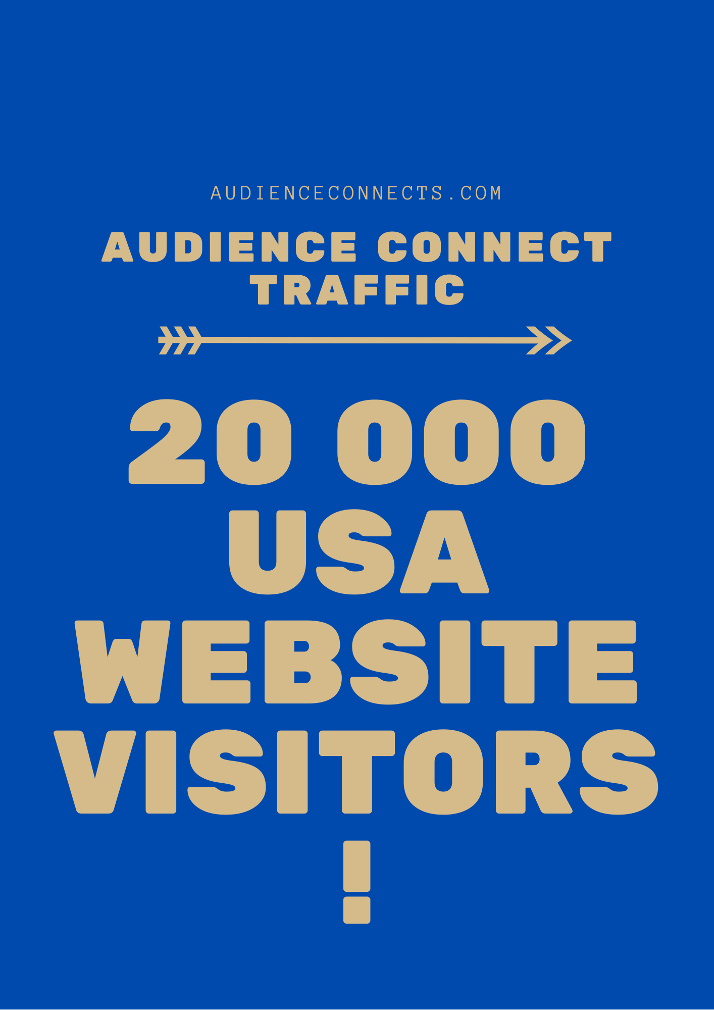 I Will Deliver 20 000 USA Website Visiors to any URL