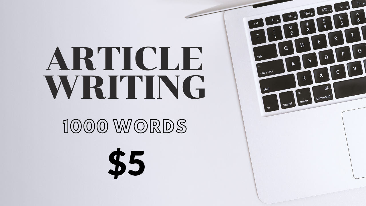 I will do article writing and content writing