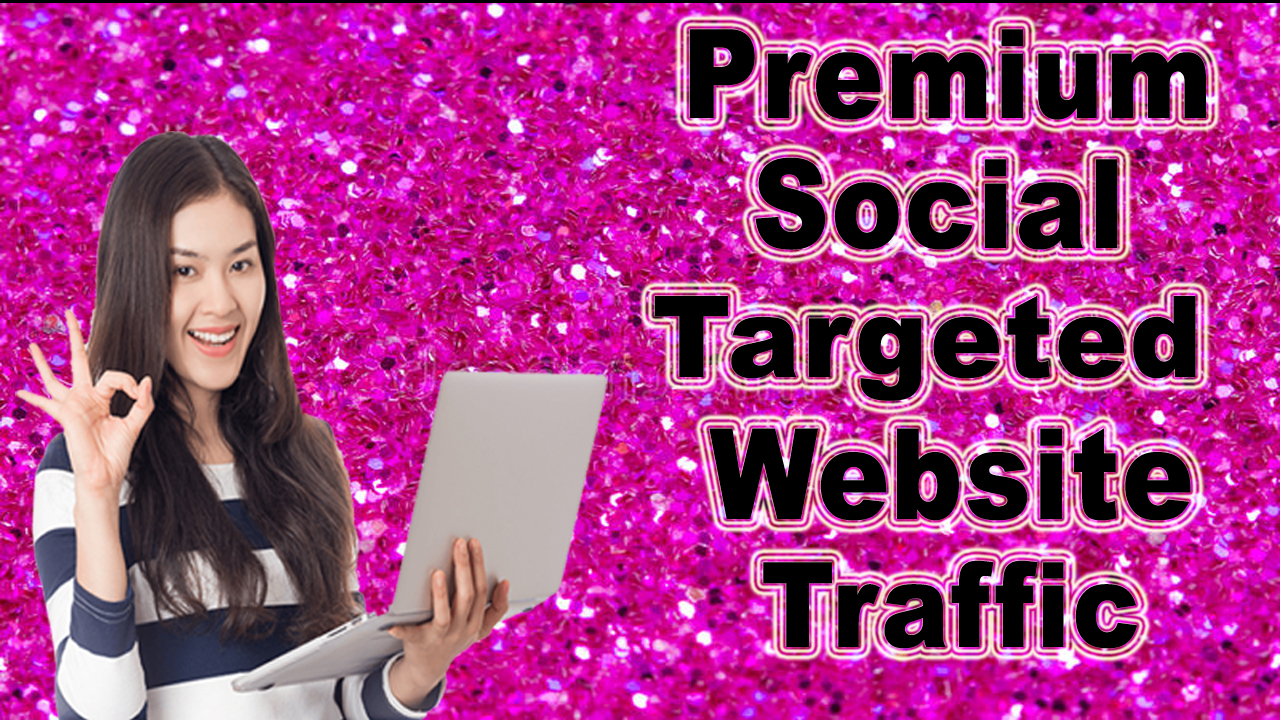 Premium Social, targeted website traffic,  visitors 30 Days