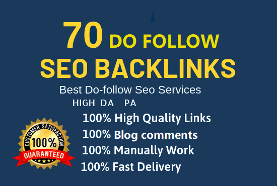I Will Provide 70 Dofollow Blog Comment Backlink in High Quality