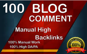 I Will Provide 100 Dofollow Blog Comment Backlink in High Quality