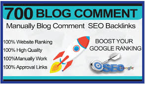 I will Create 700 High Quality Dofollow Blog Comments Backlink