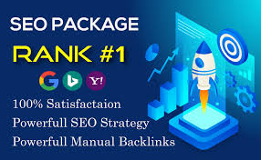 I Will Provide SEO PACKAGE Manual Work High Authority backlinks