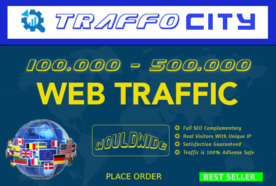 i will send send 100,000 real traffic to your website