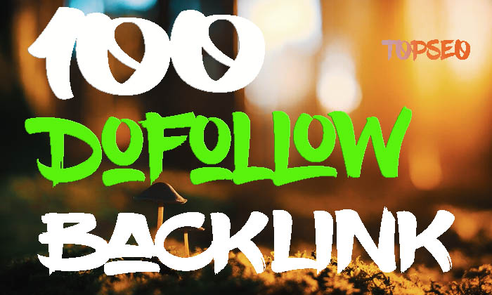 Dofollow Backlink 100 High Authority Backlink From DA20+ Site