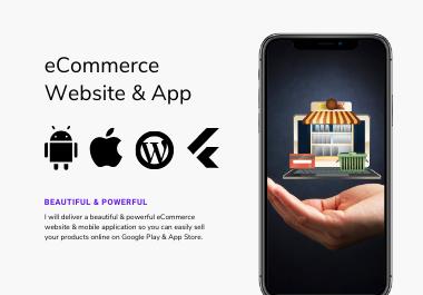 E-Commerce Website & Mobile Application