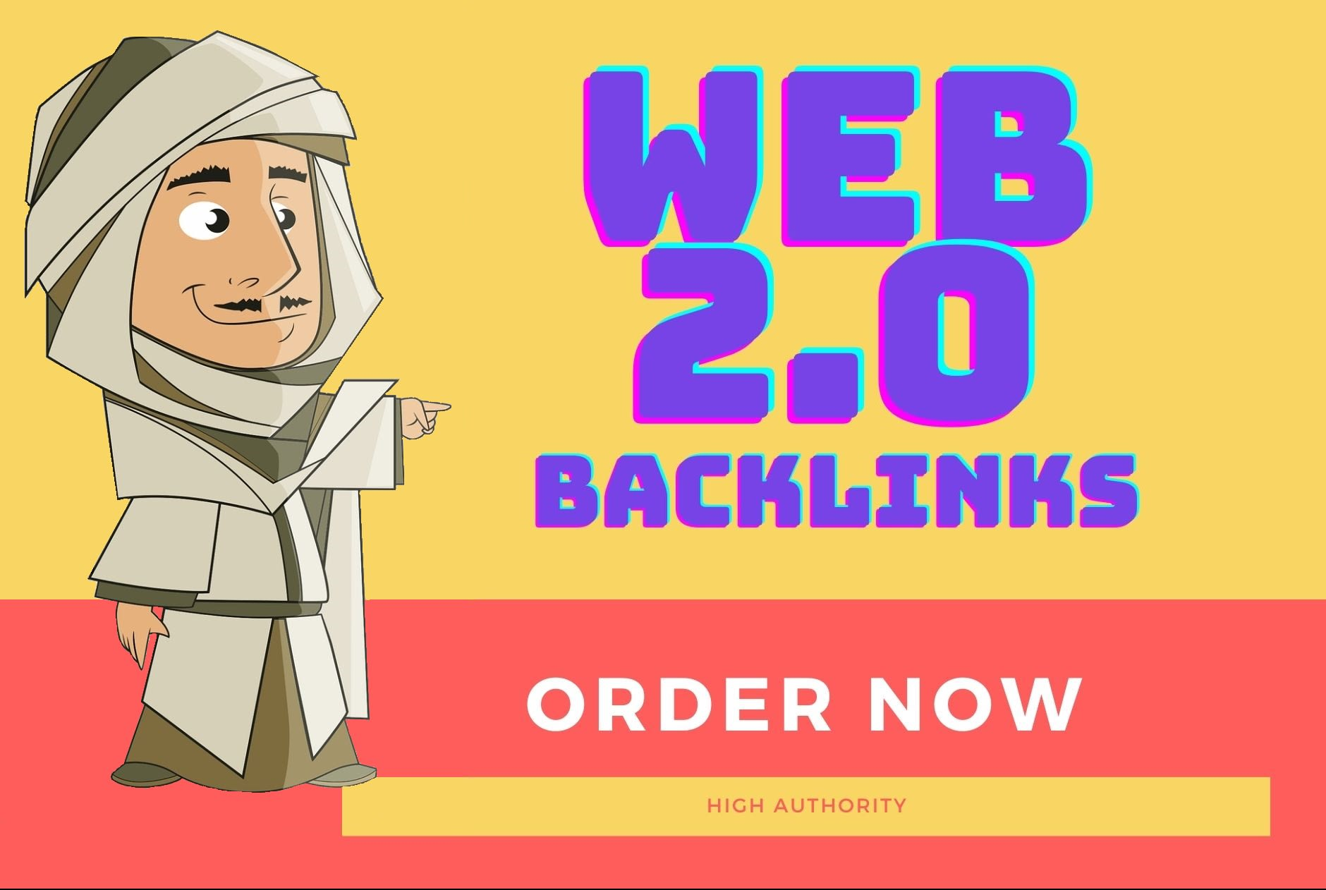 I will boost your serp by building 15 web 2 0 in high da pa