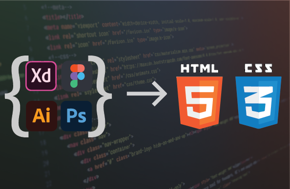 Convert your sketch to HTML and CSS responsive