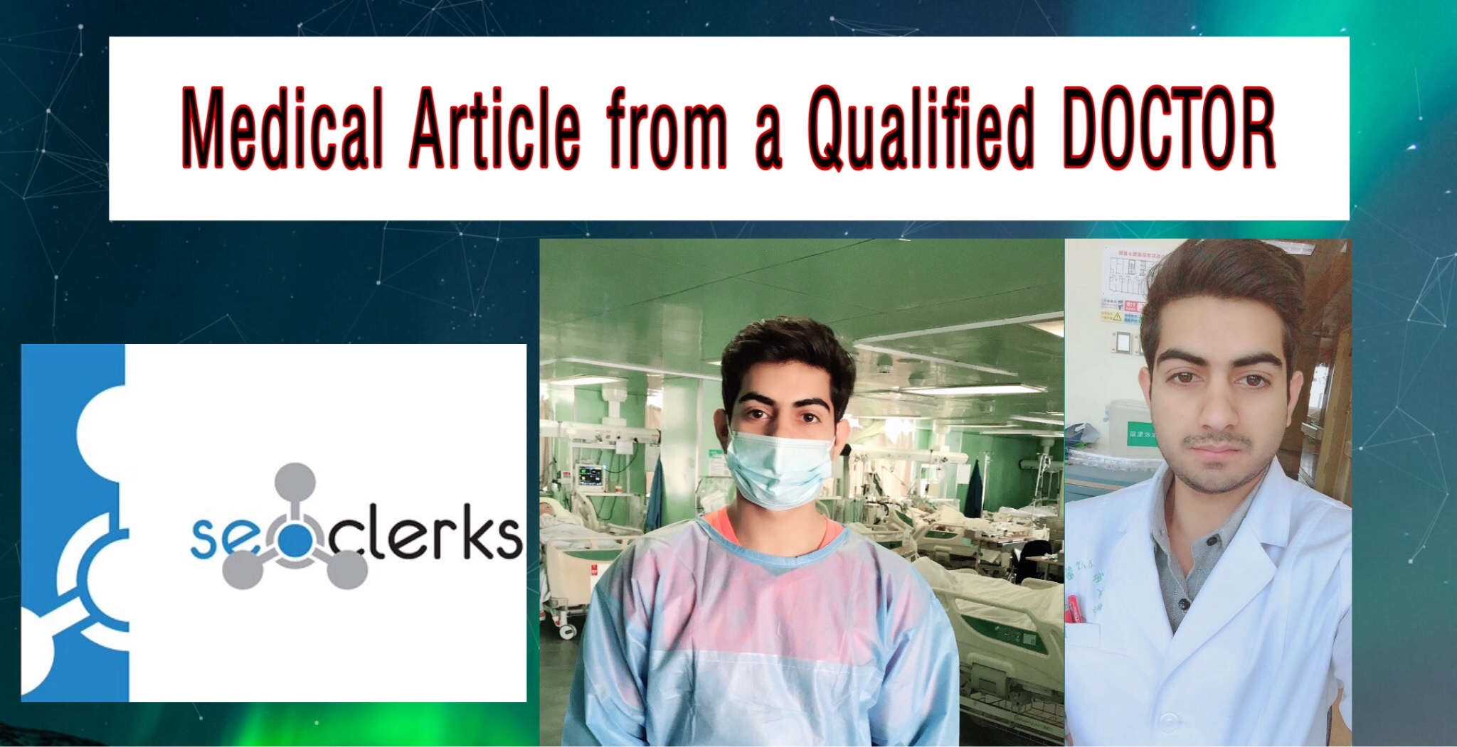 I will do professional medical article writing and health blog as a doctor