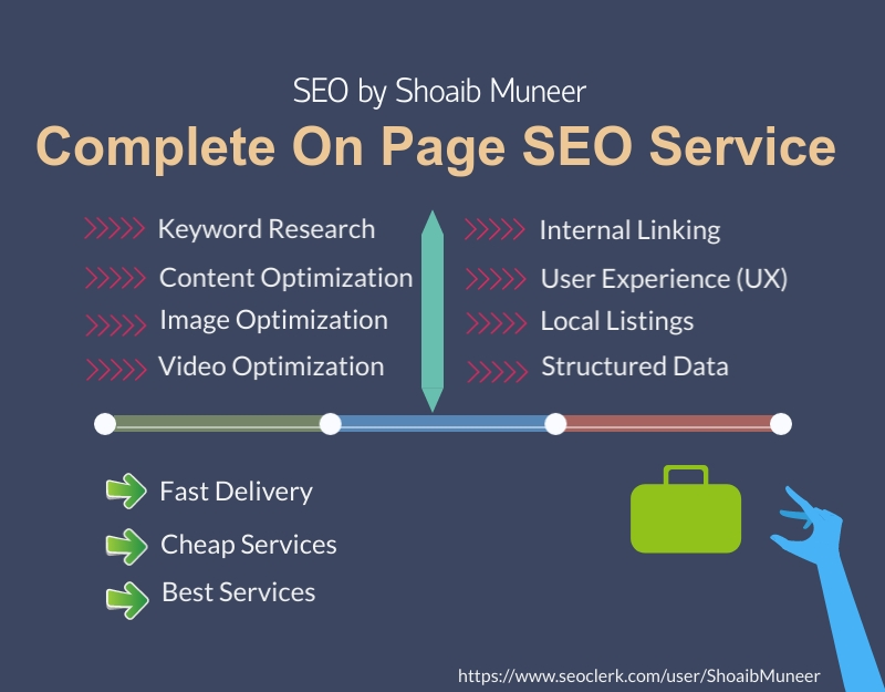 Complete On Page SEO Service To Rank To Site Fast