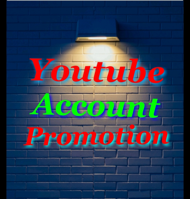 I Will Do Youtube Account Promotion