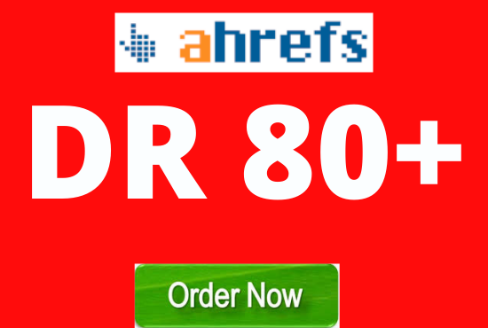 Increase your Website Ahrefs DR 30+ Domain Rating Also check other Packages