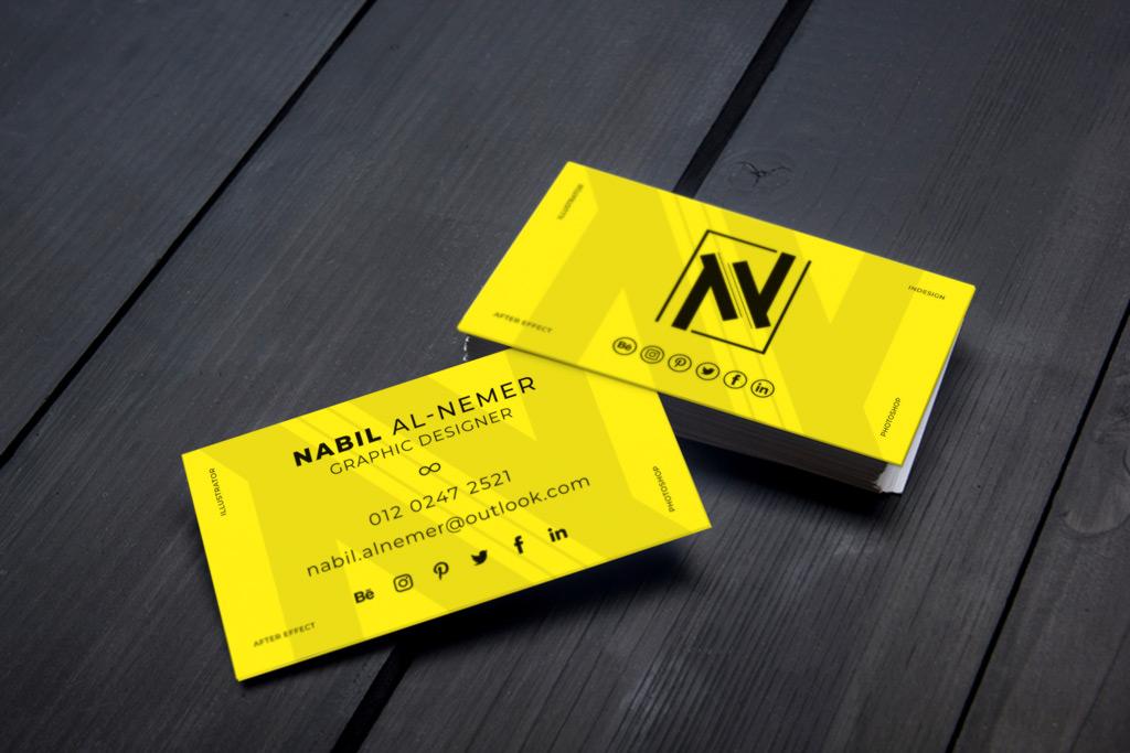 Creating custom business cards