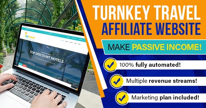 I will Create a Fully Automated Travel Website for Passive Income