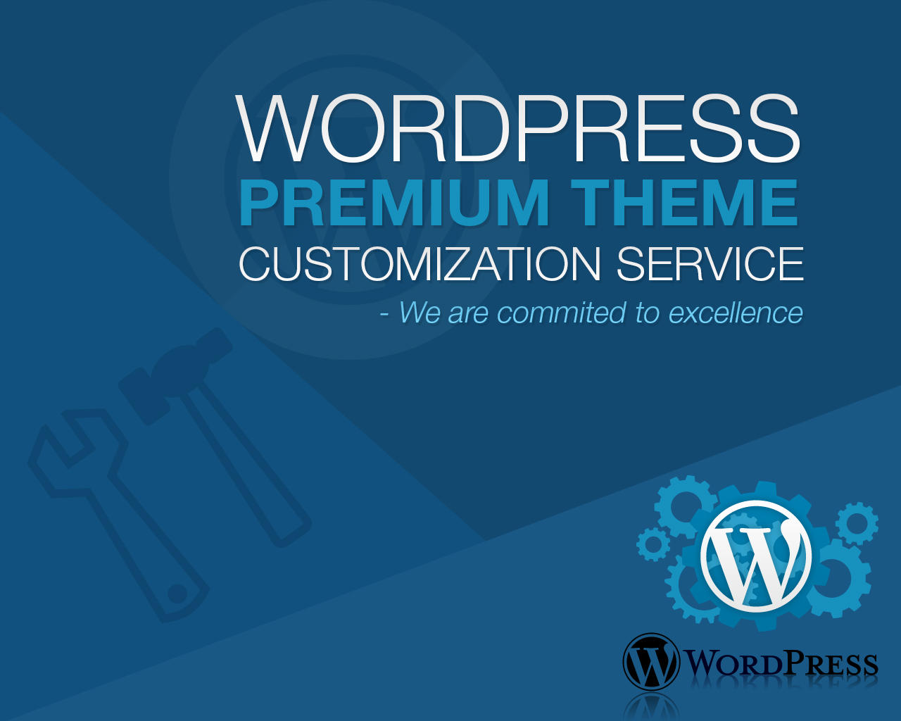 Do wordpress theme customization as per requirements with elementor page builder