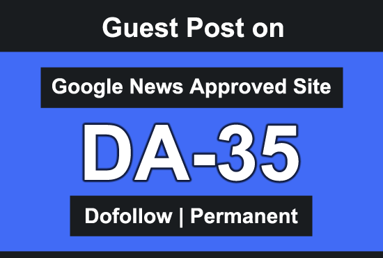 I will Guest Post on Google News Approved Website