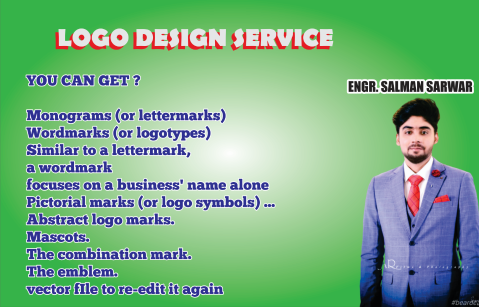I will design eye catchy logo,  company business cards