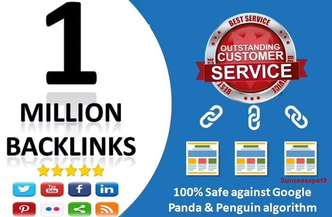 I will do 1 million gsa ser verified backlinks with high DR websites