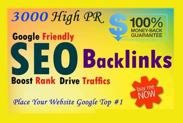 Build 1000 Backlinks all dofollow high quality backlinks