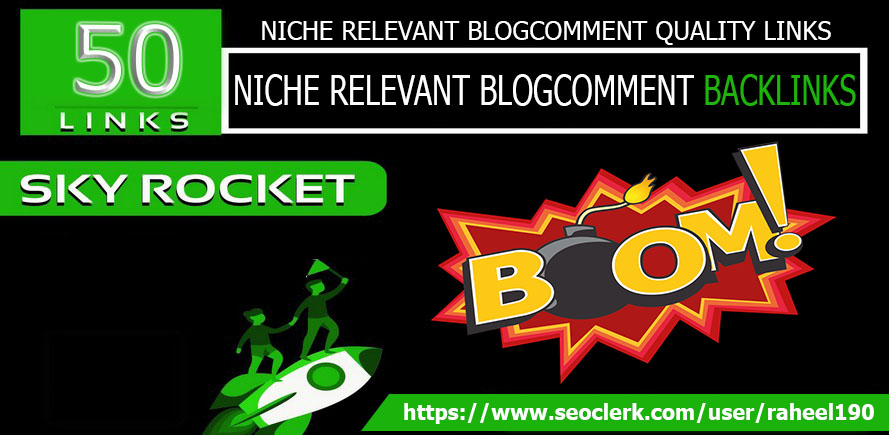 I will do 50 niche relevant backlinks as your website niche