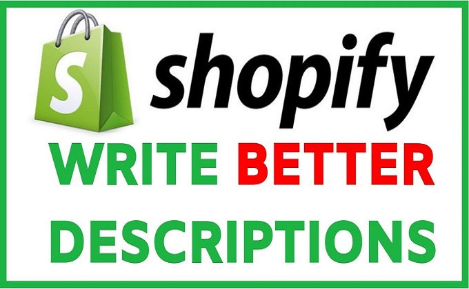 Write Shopify Product Description With SEO Friendly