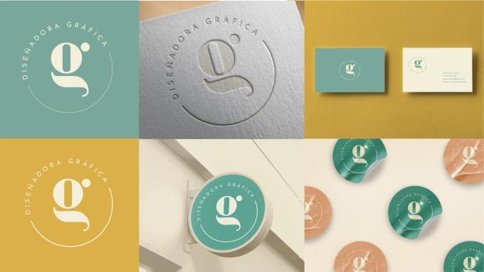 I will design you a flat and minimalistic logo