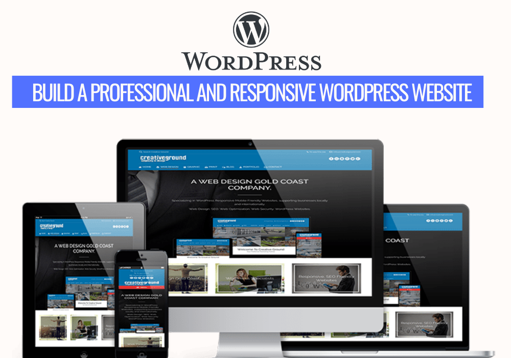 Build A Fast and Responsive Worpress Site in 6 Days