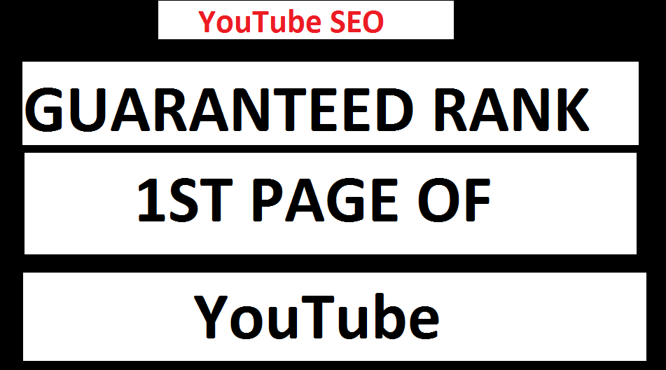 Guaranteed Rank Your Video On 1st Page Of YouTube