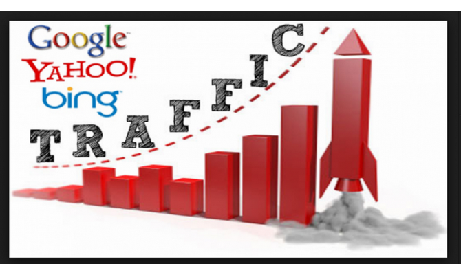 I will drive 10k Real Google organic traffic from targeted visitors