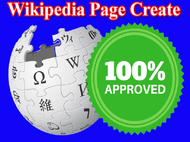 I will create unique and approved wik pedia page