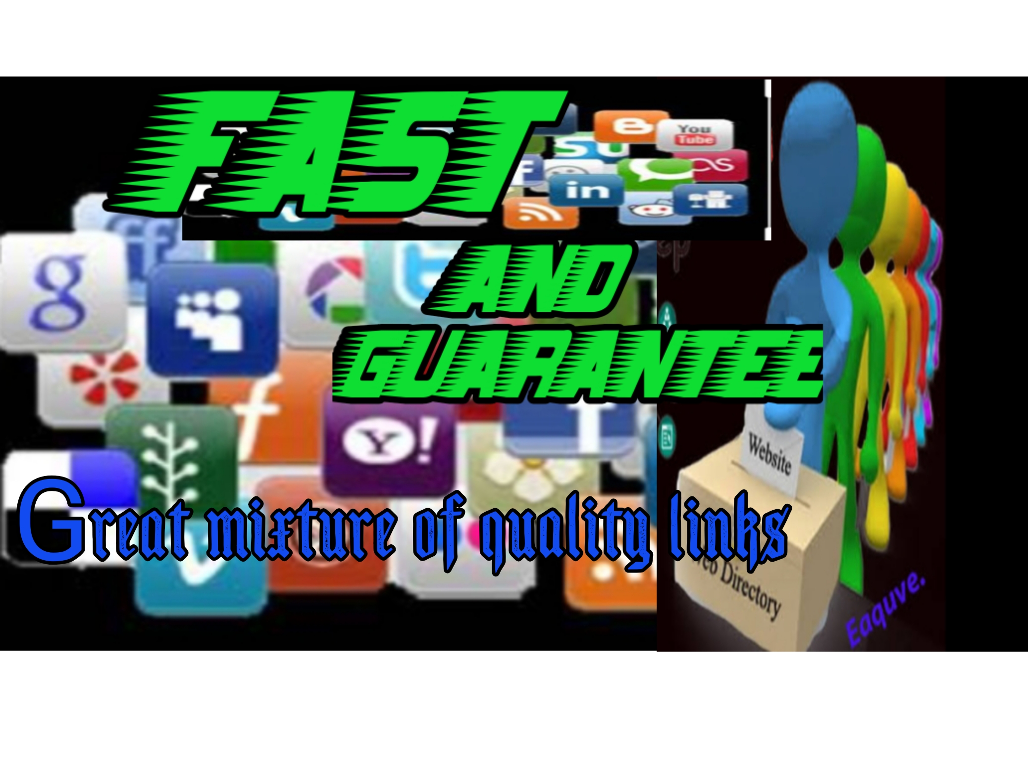 Fast and guarantee service. Great mixture of quality links.