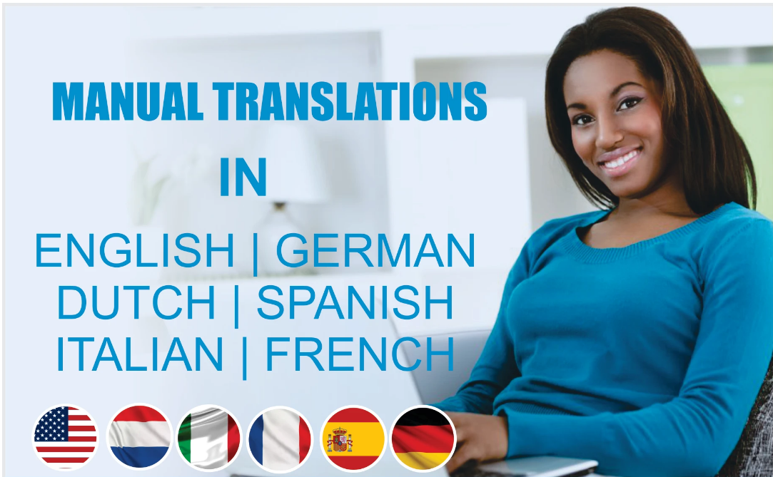 I will translate from Spanish or Italian to perfect English