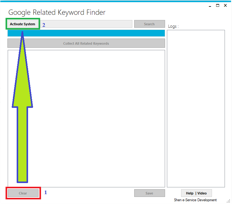 Google Related Keyword Finder - long tail keywords for google ads and seo