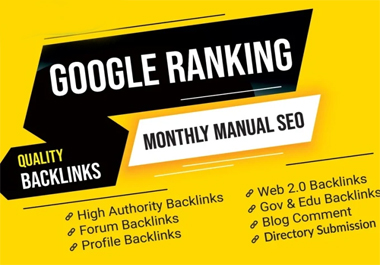 I will do 100 manual dofollow nofollow high da backlinks with login