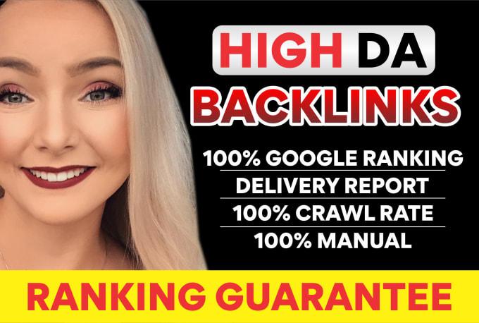 I will build high domain authority seo dofollow backlinks