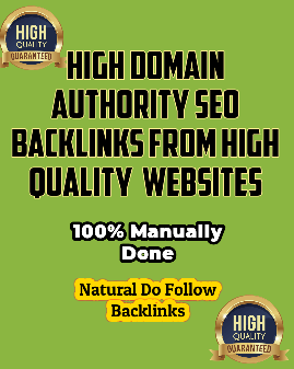 I will build high quality SEO backlinks