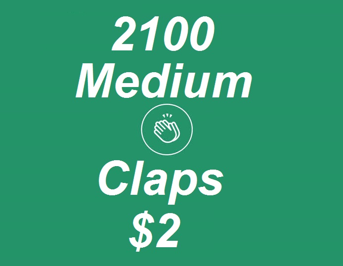 Promote 2100+ Medium Claps on your Medium Article medium