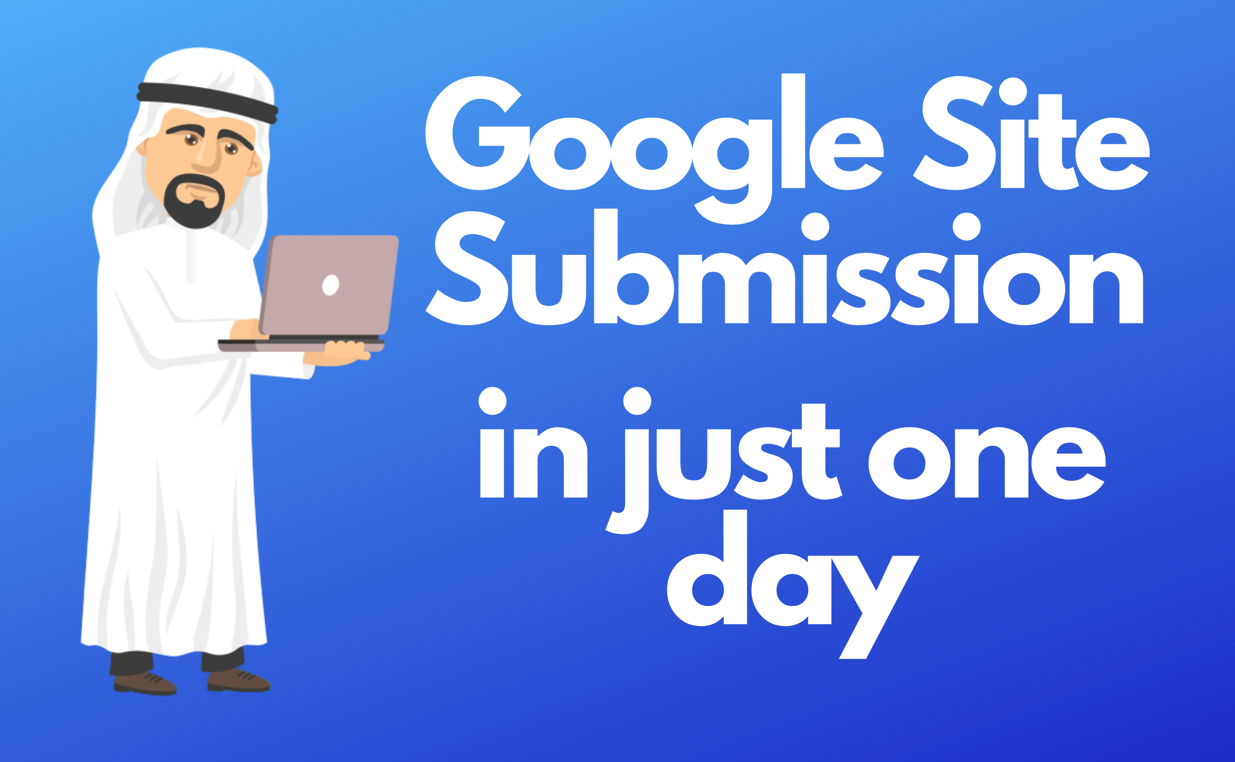 I will index your website in Google in just 1 day