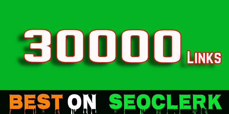 30,000 Live SEO blog comments backlinks
