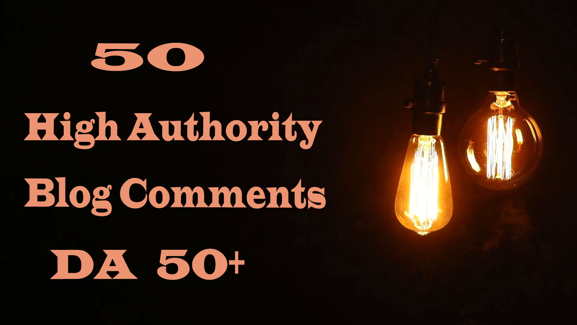 I will do 50 manually High Authority Blog Comments DA-50+ Off-Page-Seo