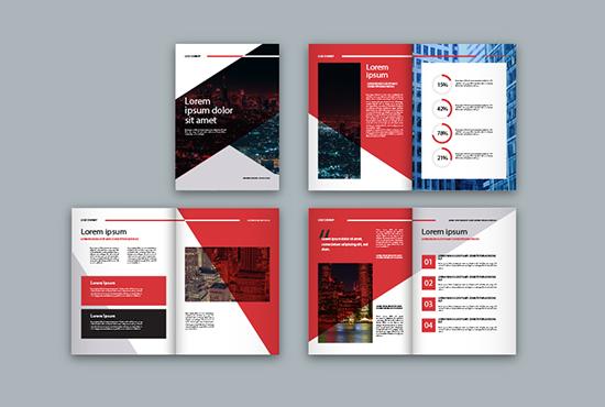 Design A Creative Brochure or Menu,  Catalog