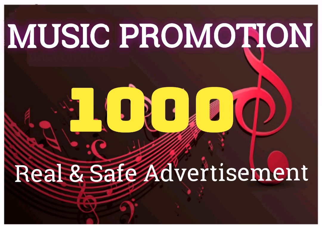HQ Music Promotion professionally in your music track