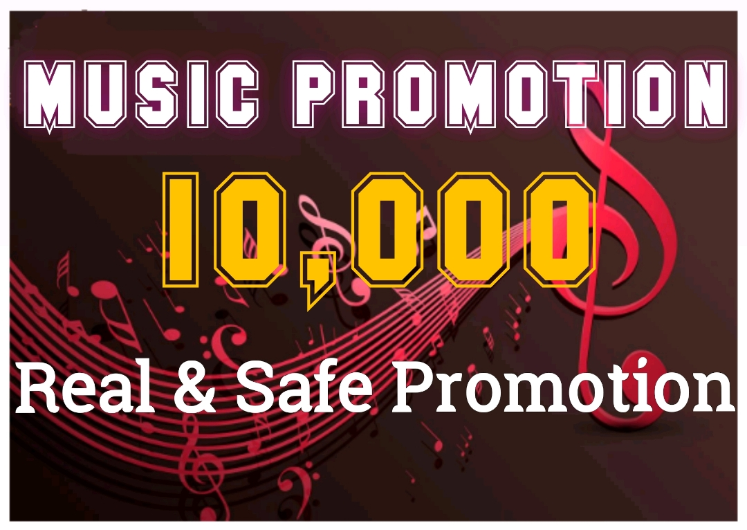 HQ Music Promotion Professionally for Your Track