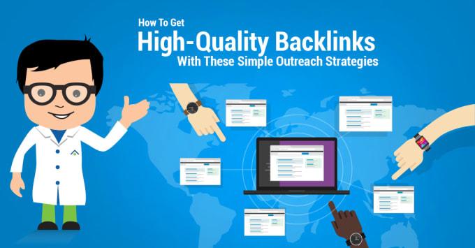 create 50 high domain authority backlinks