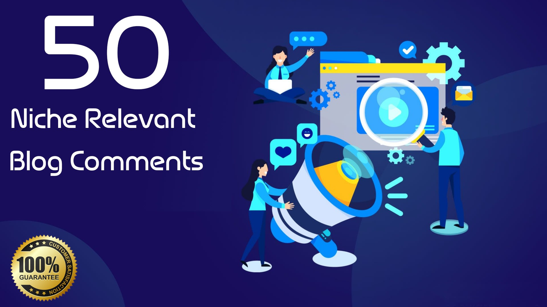 do 50 niche relevant blog comments SEO backlinks