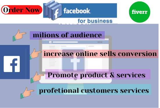 i will do Facebook Marketing, ads Campaign, Advertising Business page