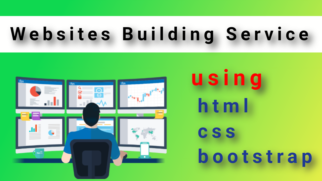 Website Building and Designing Service