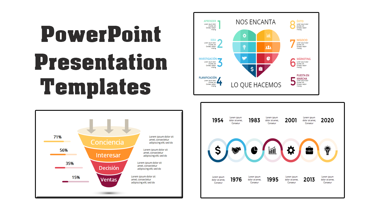 PowerPoint Presentation Templates 295 with Resell Rights